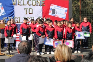 IMG 1742 - (VIDEO) ESTUDIANTES DE ESCUELAS RURALES MUNICIPALES CELEBRARON SU ENGLISH DAY