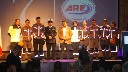 DSC01551 - VOLUNTARIOS DE ARE AGRADECEN APOYO DE AUTORIDAD MUNICIPAL